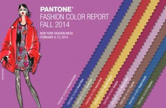 PANTONE LLC ANNOUNCES COLOR REPORT FALL 2014